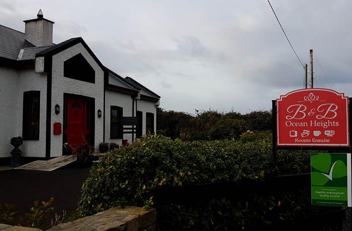 B&B Ocean Heights en Sligo una semana en Irlanda