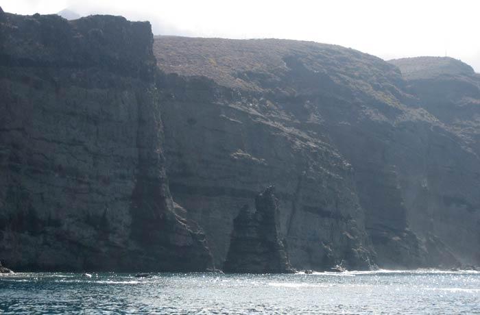 Lo que queda del Dedo de Dios en Agaete qué ver en Gran Canaria