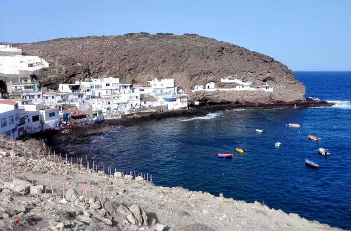 Playa de Tufia en Telde qué ver en Gran Canaria