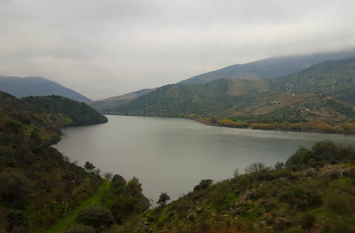 Valle del Duero desde el tren Pocinho Regua