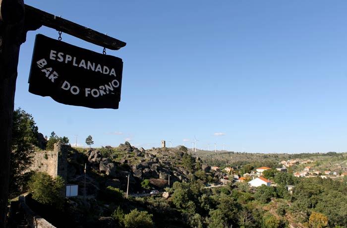 Bar do Forno y sus vistas Sortelha Portugal