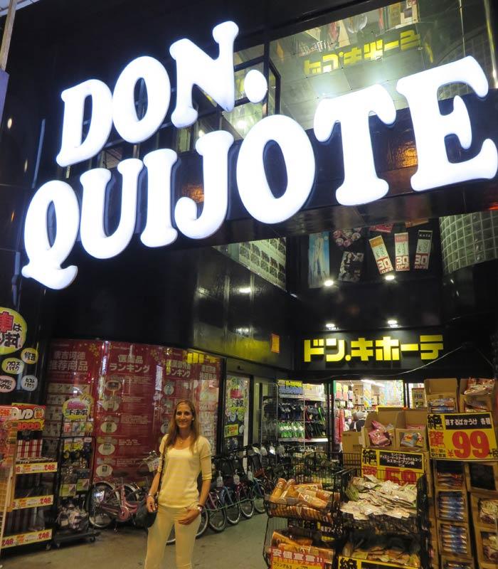 Don Quijote en Hiroshima curiosidades de Japón