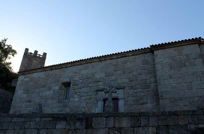 Iglesia matriz Sortelha Portugal