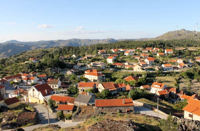 Pueblo moderno de Sortelha donde se concentra su población
