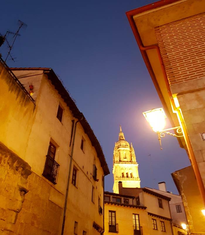 Tentenecio y sus vistas de la Catedral Salamanca San Valentín