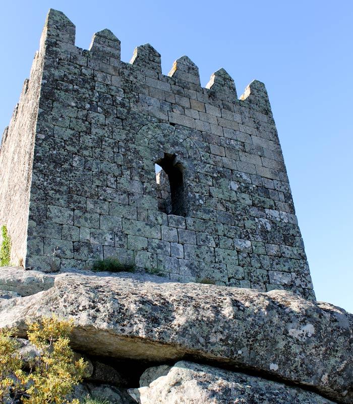 Torre del homenaje del castillo Sortelha Portugal