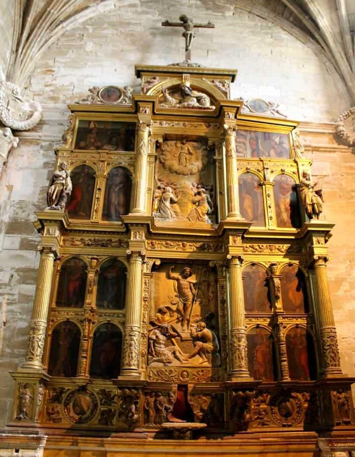 Retablo de la Capilla de los Apóstoles de la Catedral que ver en Cuenca