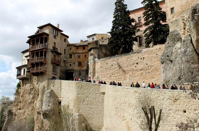Casas Colgadas desde el puente de San Pablo que ver en Cuenca
