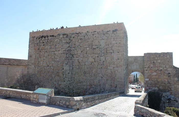 Restos del Castillo de Cuenca y arco Bezudo que ver en Cuenca