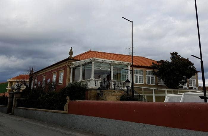 Exterior de Estalagem Falcão de Mendonça comer en Figueira de Castelo Rodrigo