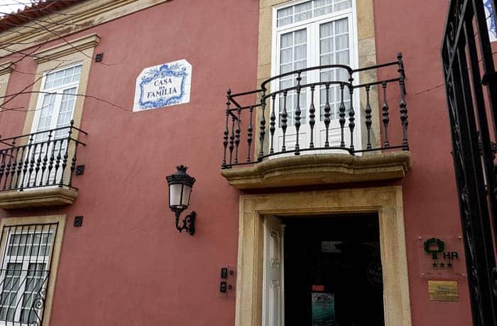 Fachada de Estalagem Falcão de Mendonça comer en Figueira de Castelo Rodrigo