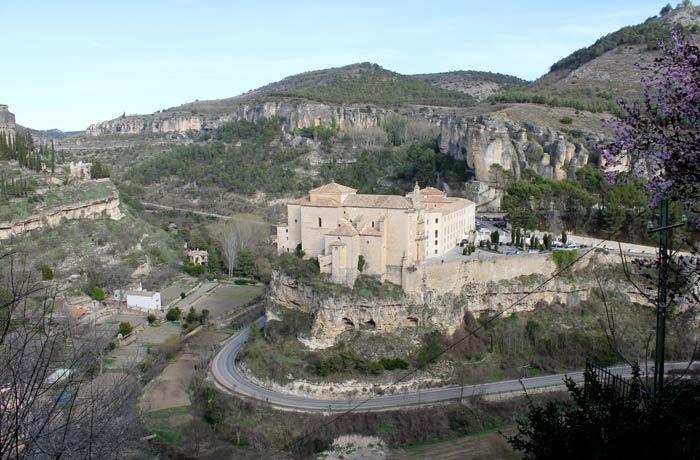El Parador y la Hoz del Huécar, desde el mirador Florencio Cañas que ver en Cuenca