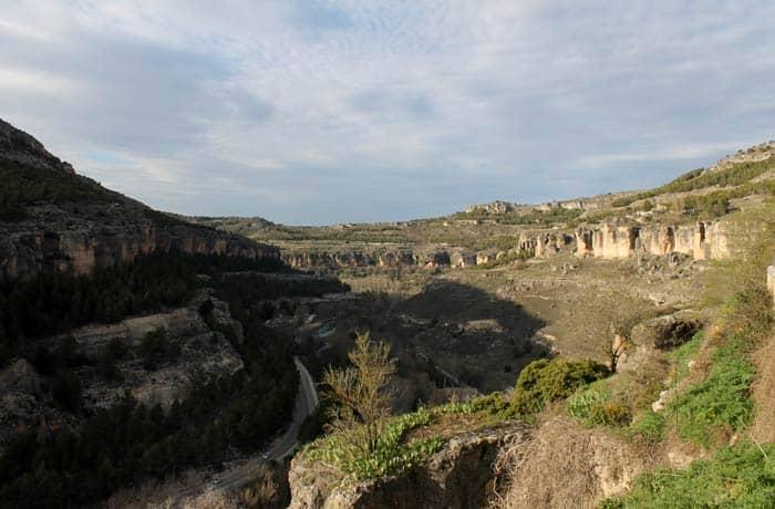 Vista de la hoz del Júcar desde el mirador Camilo José Cela que ver en Cuenca