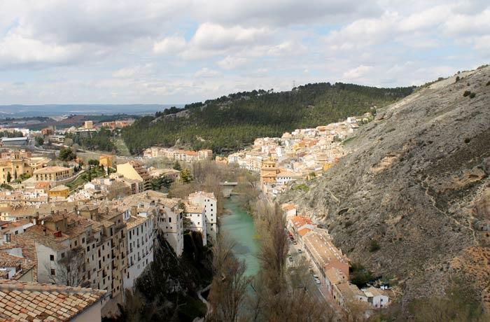 Vistas del Júcar desde la Torre Mangana que ver en Cuenca