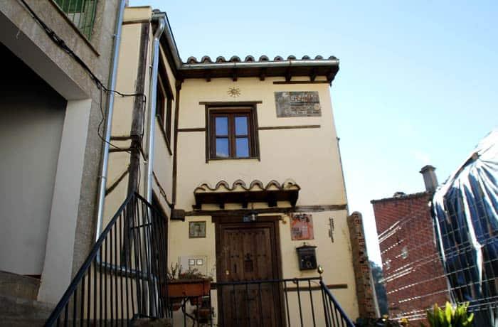 Fachada de la casa rural Huerto Tía Juliana Valero Salamanca