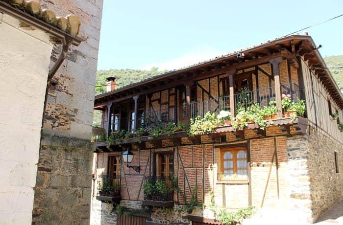 Una de las casas típicas mejor conservadas de Valero Salamanca