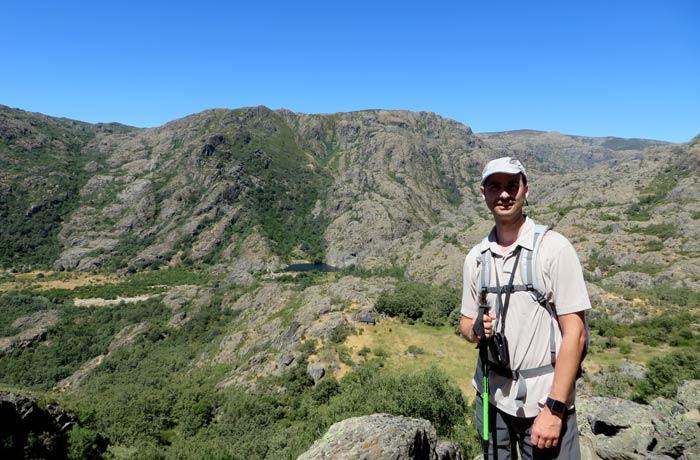 Panorámica del cañón del Tera y la cueva de San Martín