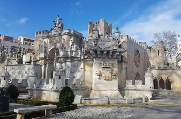 Una de las miniatura de Portugal dos Pequenitos qué ver en Coimbra