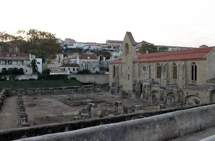 Ruinas del Monasterio de Santa Clara-a-velha qué ver en Coímbra