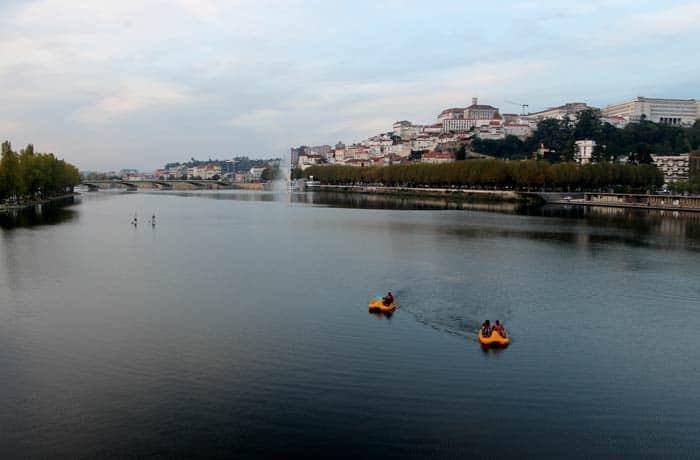 Vistas desde el puente Pedro e Inés qué ver en Coímbra