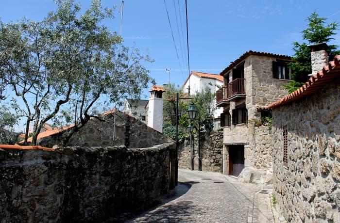 Una de las calles de Belmonte