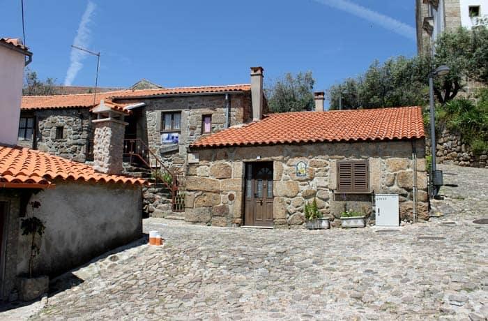 Una de las calles de la antigua judería de Belmonte Portugal