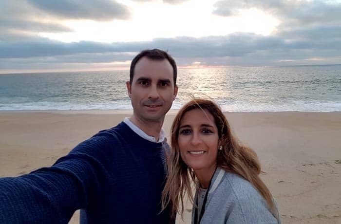 Pablo y Estefanía, autores de Viaje con Pablo
