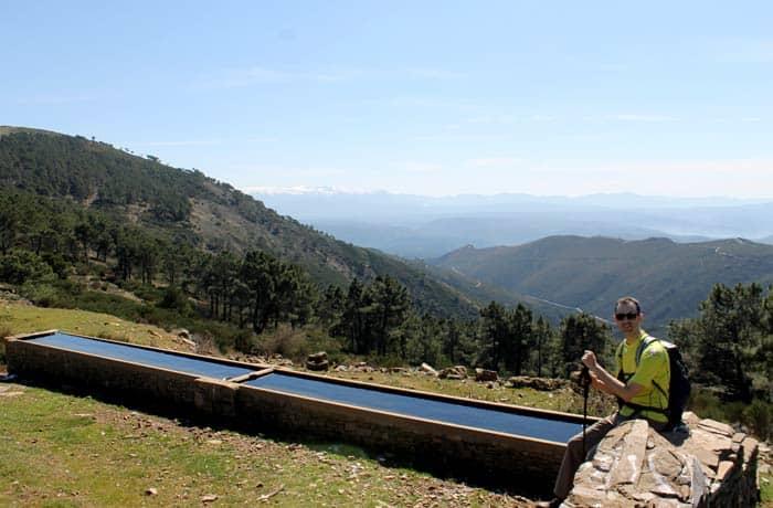 Abrevadero situado antes de la subida al pico del Castillo Viejo de Valero