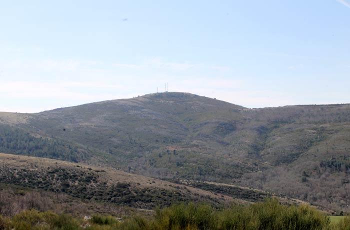 Cima del pico Codorro Castillo Viejo de Valero