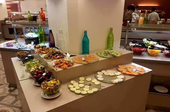Desayuno del hotel Prima Kings Israel por libre