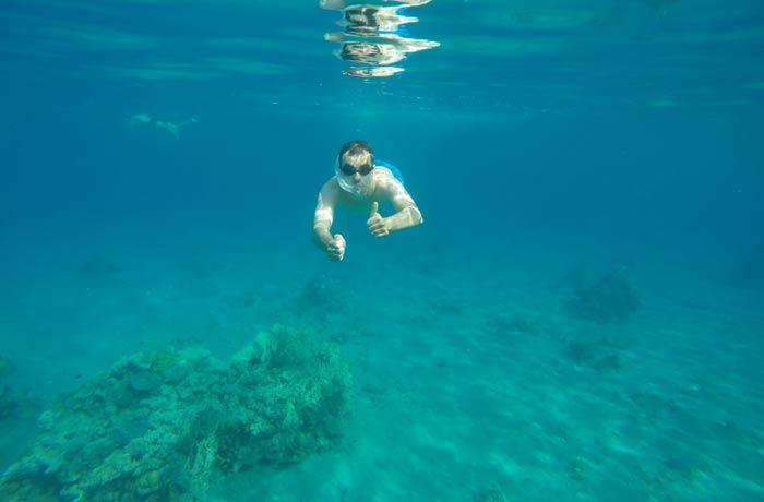 Esnórquel en el mar Rojo en Eilat Israel por libre