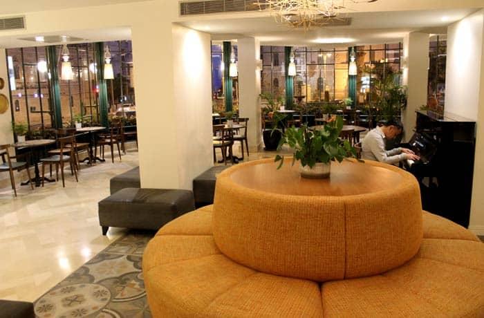 Vestíbulo del hotel Prima Kings Israel por libre
