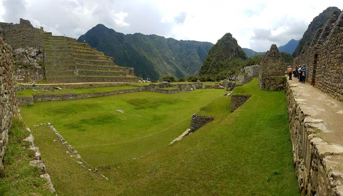 Machu Picchu. Plaza Central