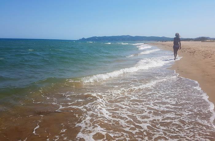 Gola del Ter mejores calas de la Costa Brava