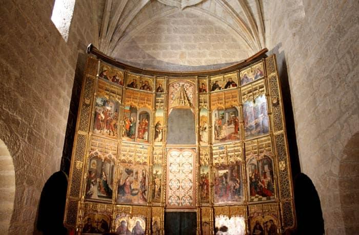 Retablo gótico de San Lorenzo el Real qué ver en Toro