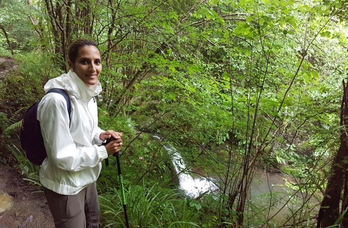 Cascada en el arroyo de las Xanas