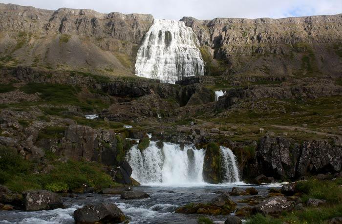 Cascada Dynjandi Islandia por libre
