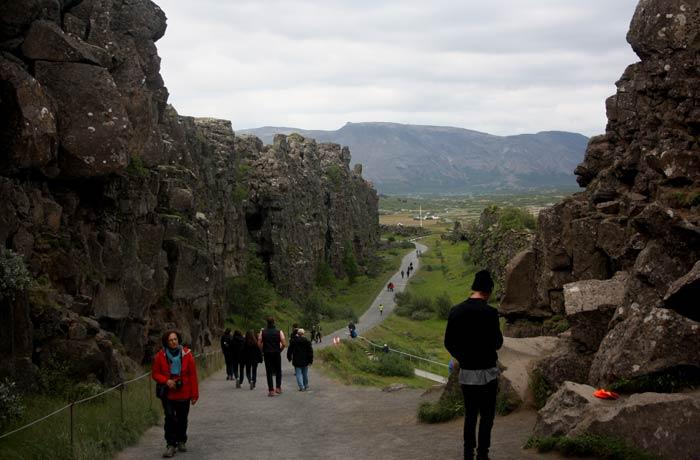 Parque Nacional Þingvellir Islandia por libre