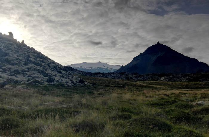 Volcán Snæfellsjökull Islandia por libre