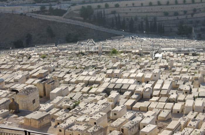 Cementerio judío qué ver en Jerusalén