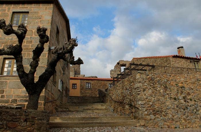 Viviendas rehabilitadas en Castelo Rodrigo