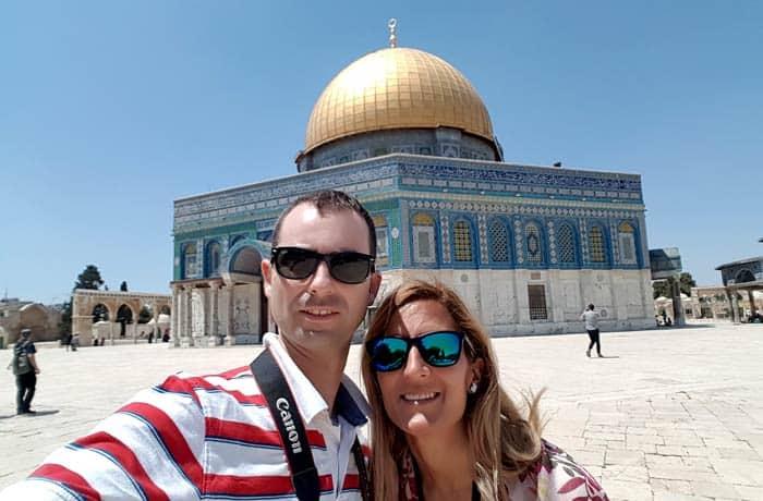 Ante la Cúpula de la Roca qué ver en Jerusalén