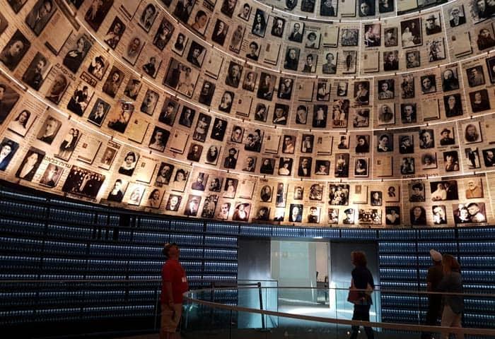 Sala de los Nombres del Museo del Holocausto qué ver en Jerusalén
