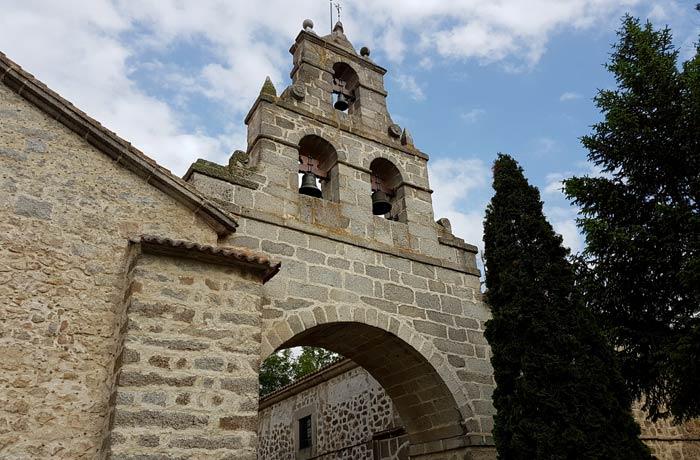 Santuario de Nuestra Señora de Sonsoles Ávila en un día