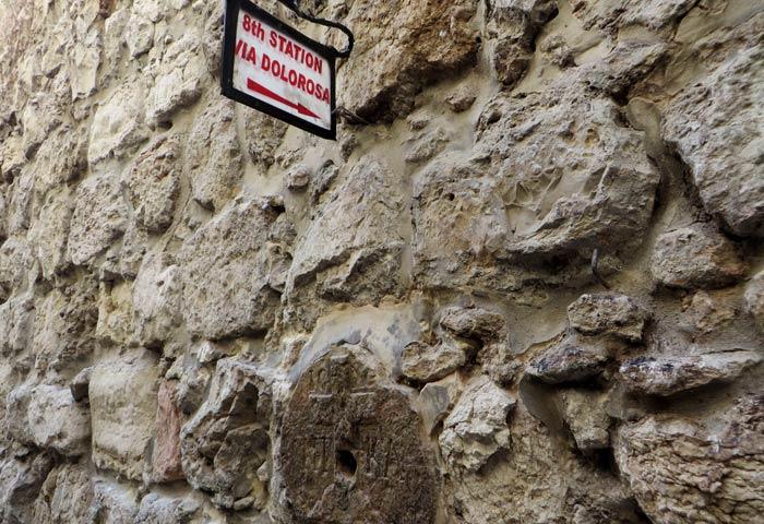 Octava estación de la Vía Dolorosa qué ver en Jerusalén