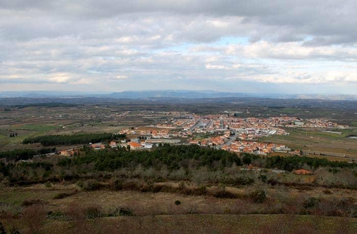 Vista de Figueira de Castelo Rodrigo desde Castelo Rodrigo