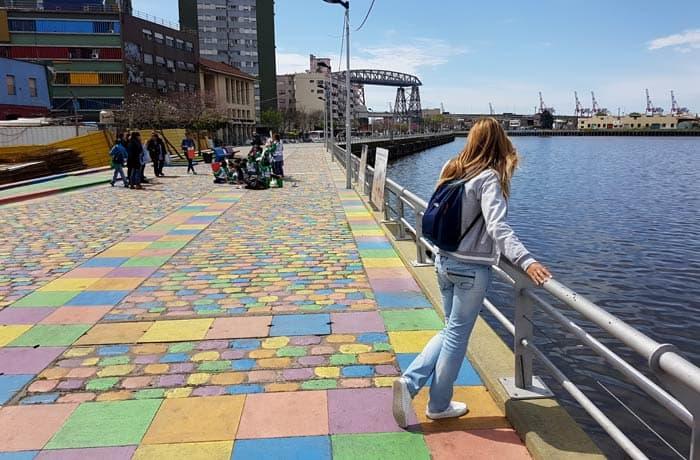 En el barrio de La Boca de Buenos Aires Argentina por libre