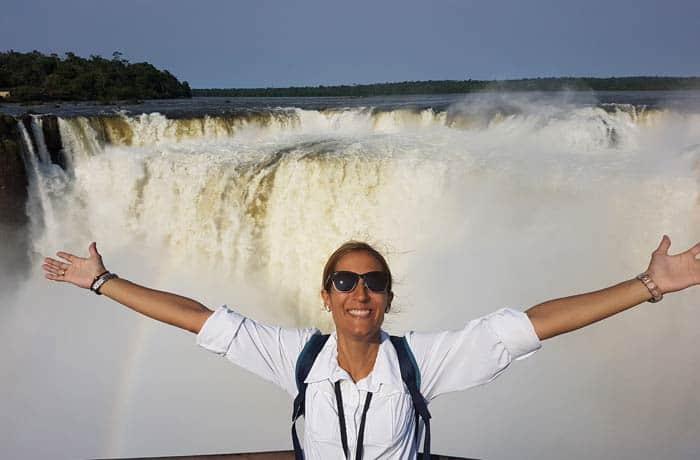 Ante la Garganta del Diablo en las cataratas del Iguazú Argentina por libre