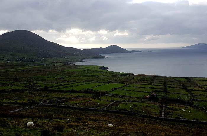 Vistas antes de llegar a Waterville Anillo de Kerry