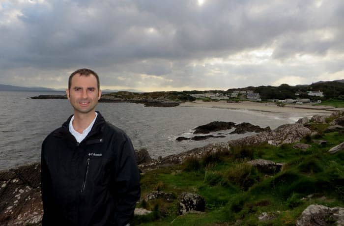 Playa de Caherdaniel Anillo de Kerry
